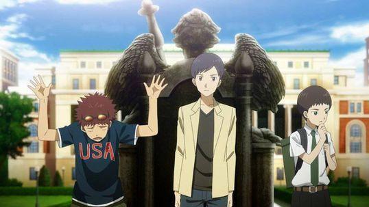 Daisuke, Ken, Koichi y Yolei