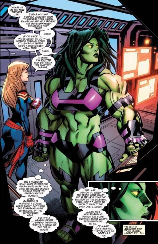 Avengers #27: She Hulk  nuevo traje