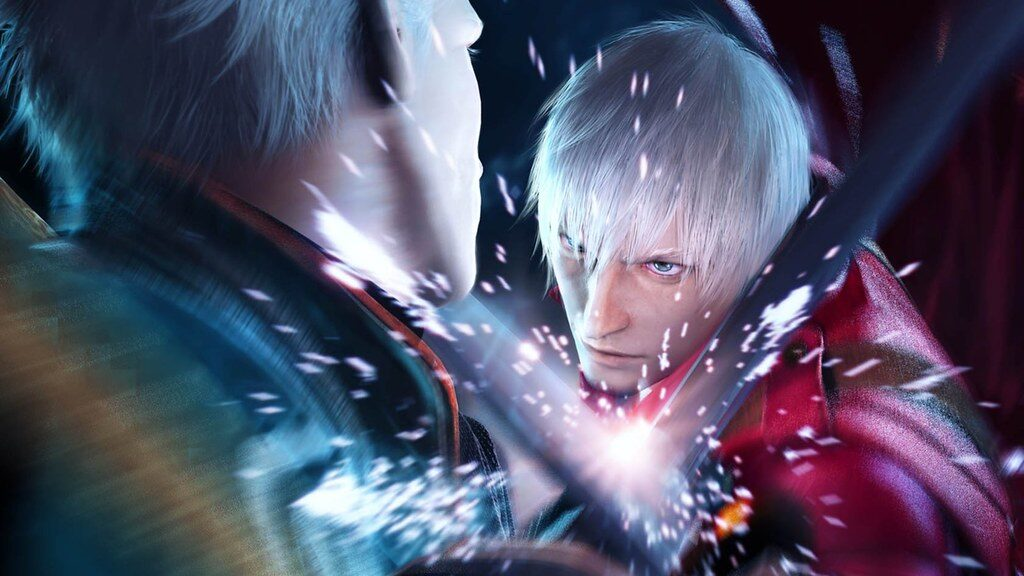Vergil vs Dante en nintendo switch