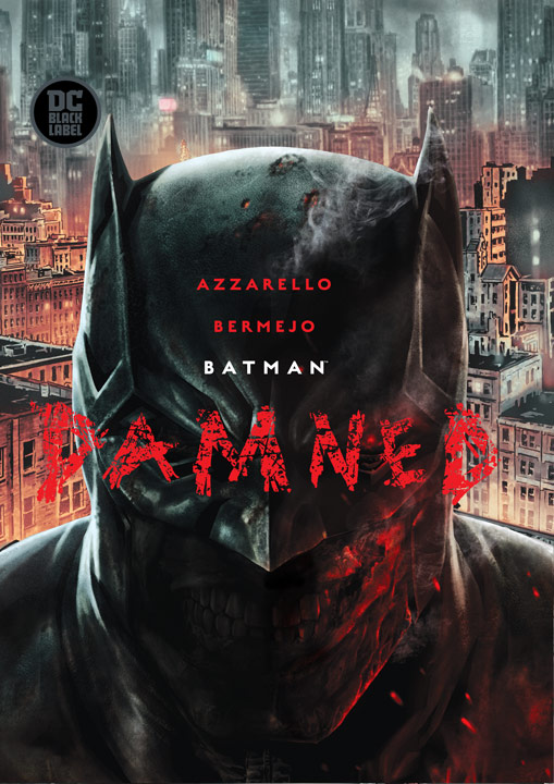 DC Black Label: Batman: Damned  - Portada
