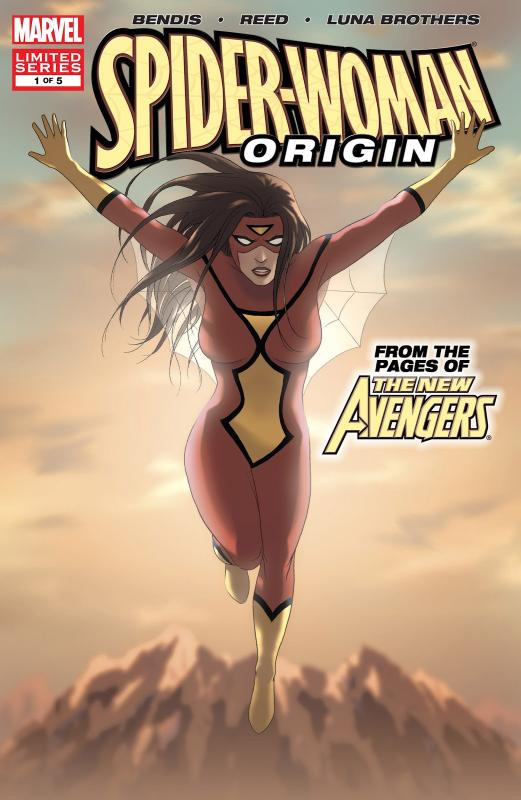 Spider-Woman: Origin  Portada
