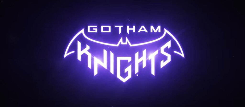 Batman: Gotham Knights  logo y trailer